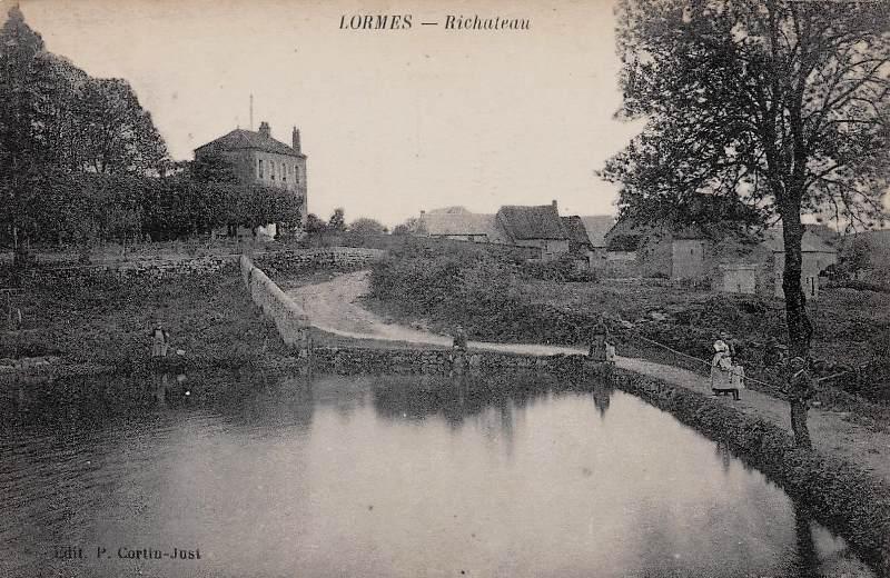 Lormes (Nièvre) Richateau CPA