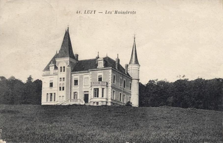 Luzy (Nièvre) Les Moindrots CPA