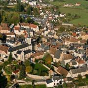 Luzy (Nièvre) Vue aérienne