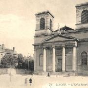 Mâcon (71) Eglise Saint-Vincent CPA