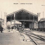Mâcon (71) Gare CPA