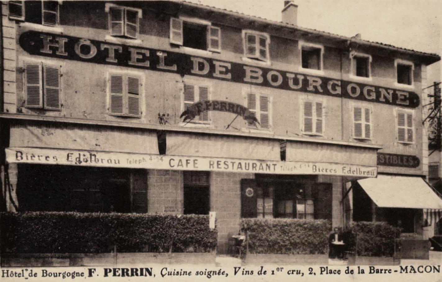 Mâcon (71) Hôtel de Bourgogne CPA
