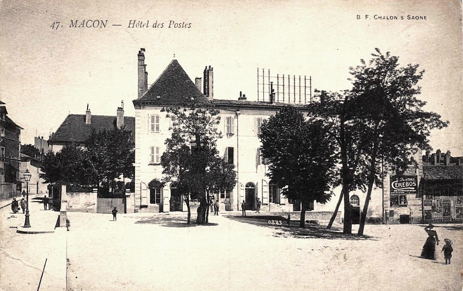 Mâcon (71) Hôtel des Postes CPA