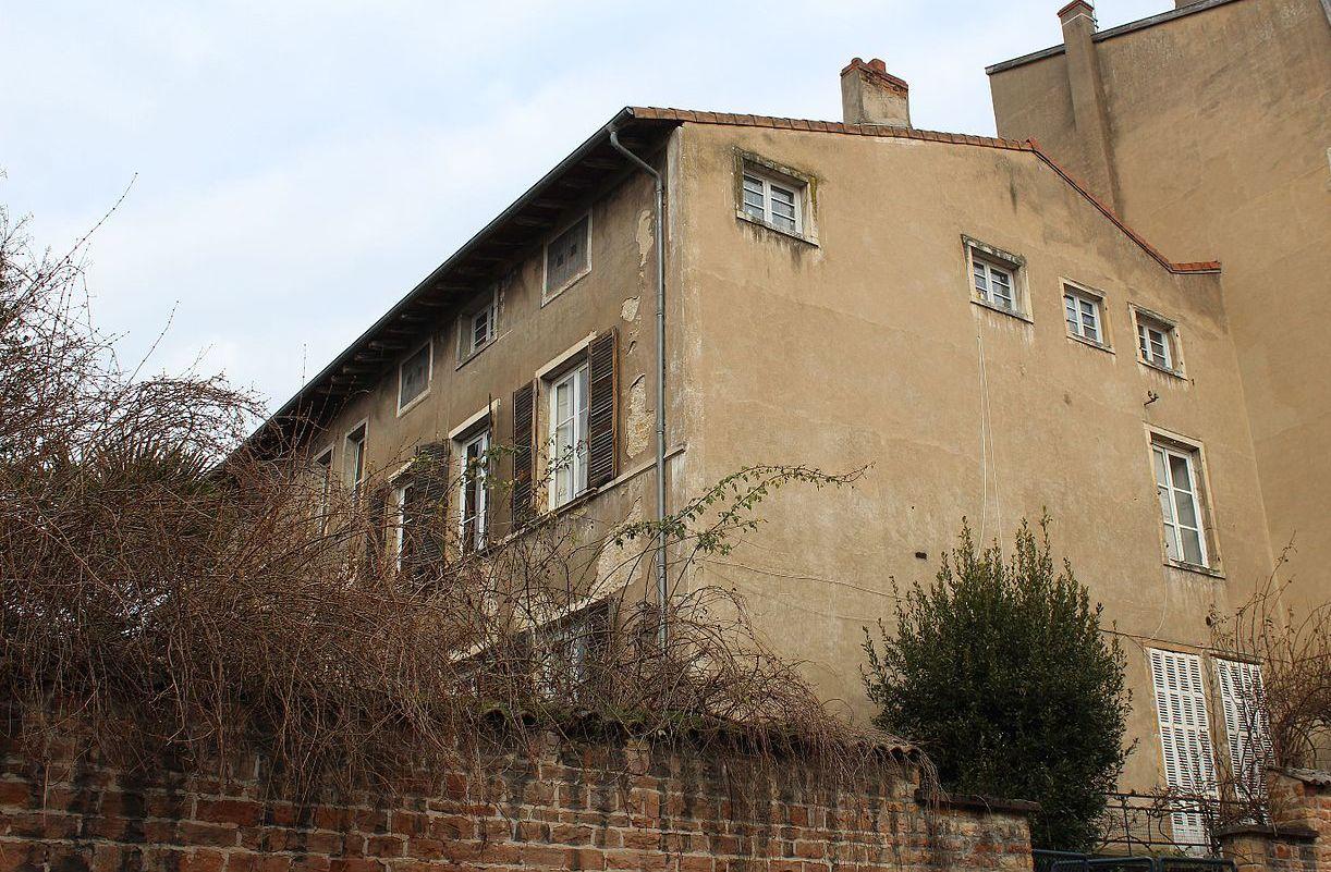 Mâcon (71) Hôtel particulier de Rossan de Davayé