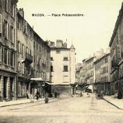 Mâcon (71) Place Poissonnière CPA
