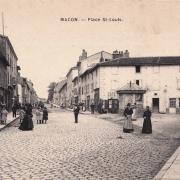 Mâcon (71) Place Saint-Louis CPA