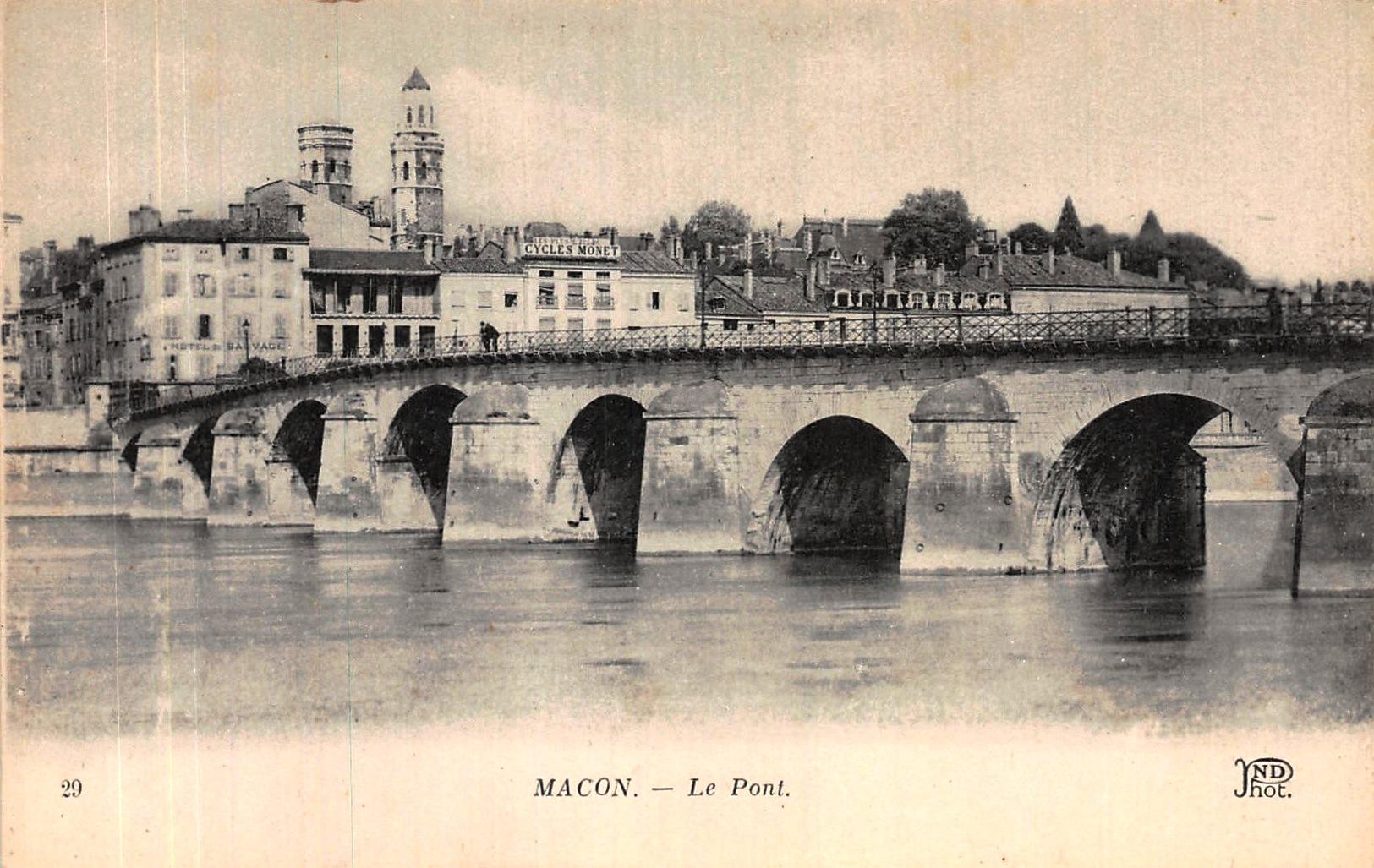 Mâcon (71) Pont