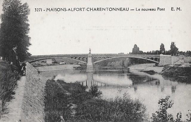 Maisons alfort val de marne charentonneau le nouveau pont cpa