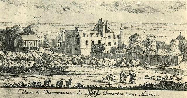 Maisons alfort val de marne charentonneau moulin et chateau cpa