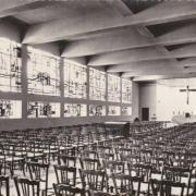 Maisons alfort val de marne l eglise saint pascal baylon interieur vers 1960 cpa