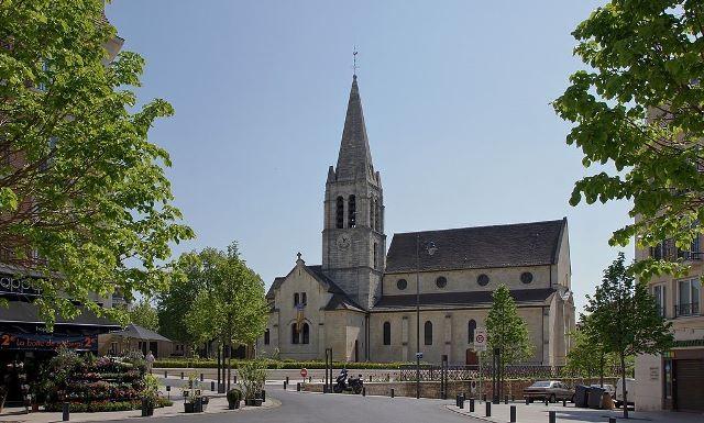 Maisons alfort val de marne l eglise saint remi en 2011