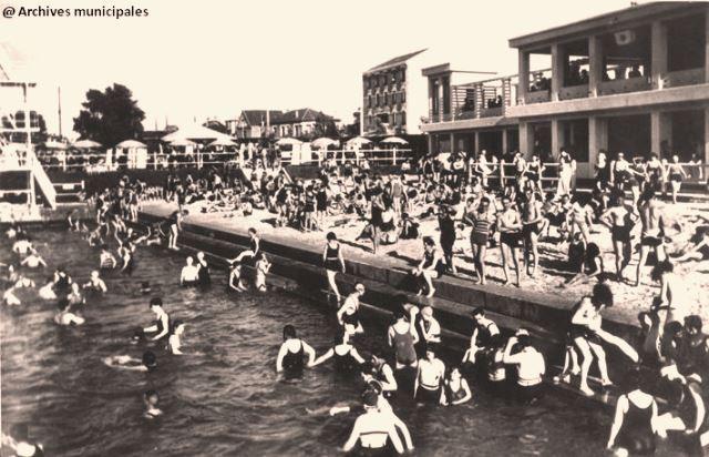 Maisons alfort val de marne la baignade en 1932 cpa