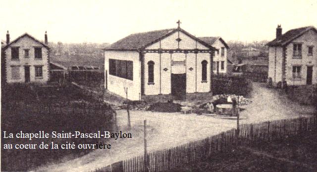 Maisons alfort val de marne la chapelle saint pascal baylon et la cite ouvriere