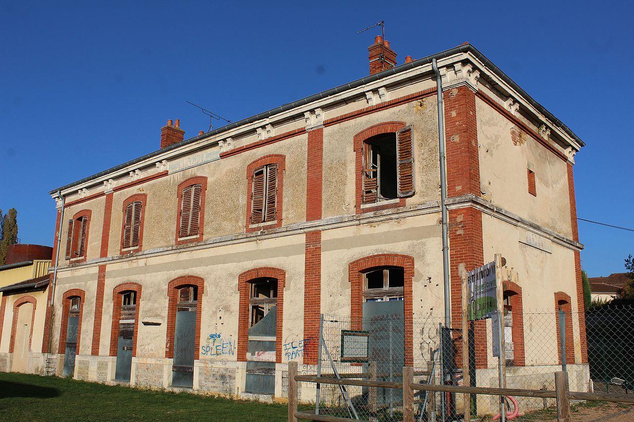 Marcigny (71) Gare