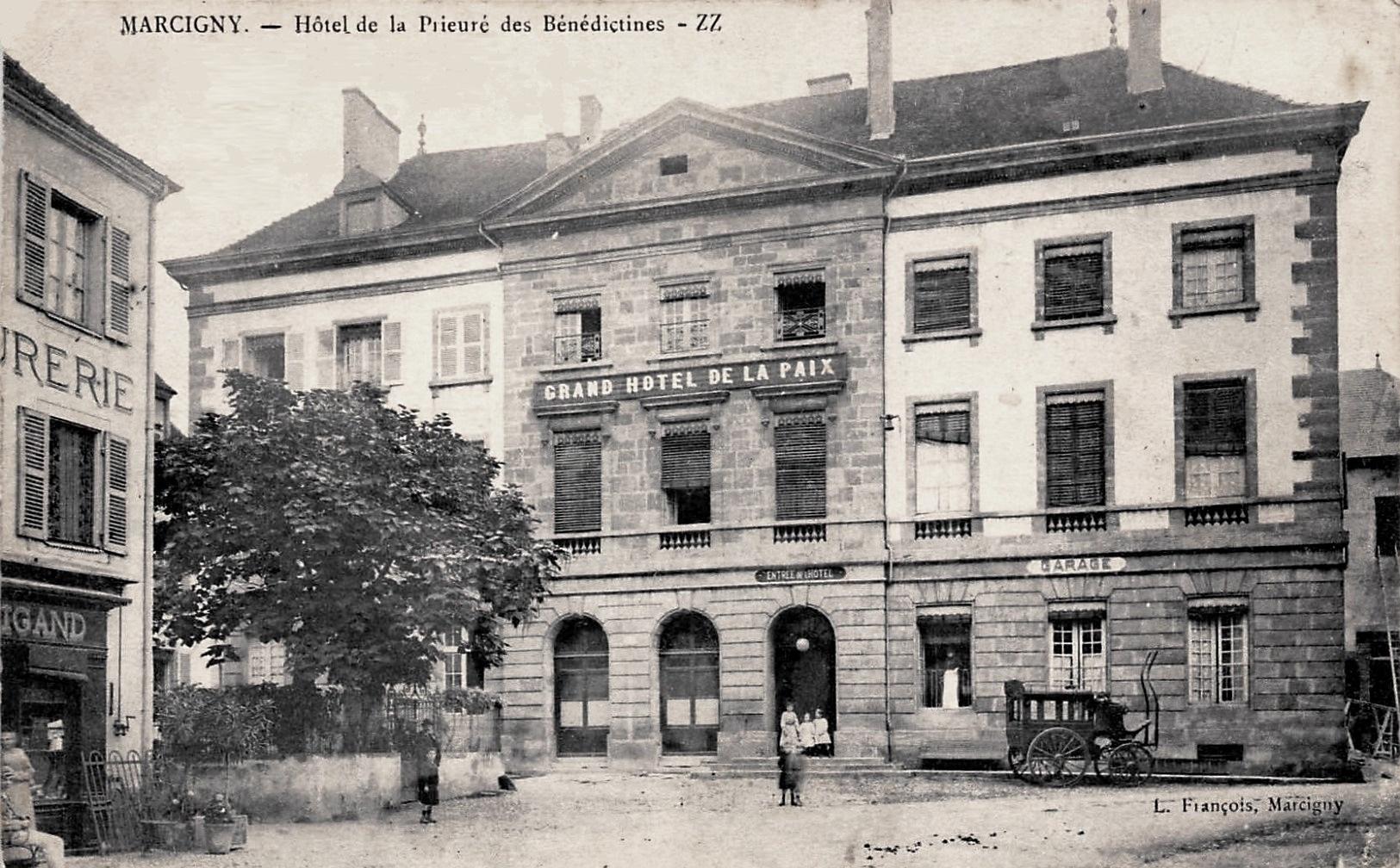 Marcigny (71) Hôtel particulier de la Prieure CPA