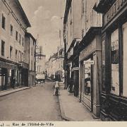 Marcigny (71) Rue de l'Hôtel de Ville CPA