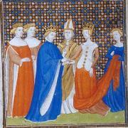 Mariage de Berthe de Hollande et du roi de France Philippe Ier