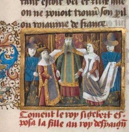 Mariage de Sigebert et de Brunehaut