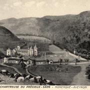 Marnhagues-et-Latour (Aveyron) CPA Nonenque, abbaye