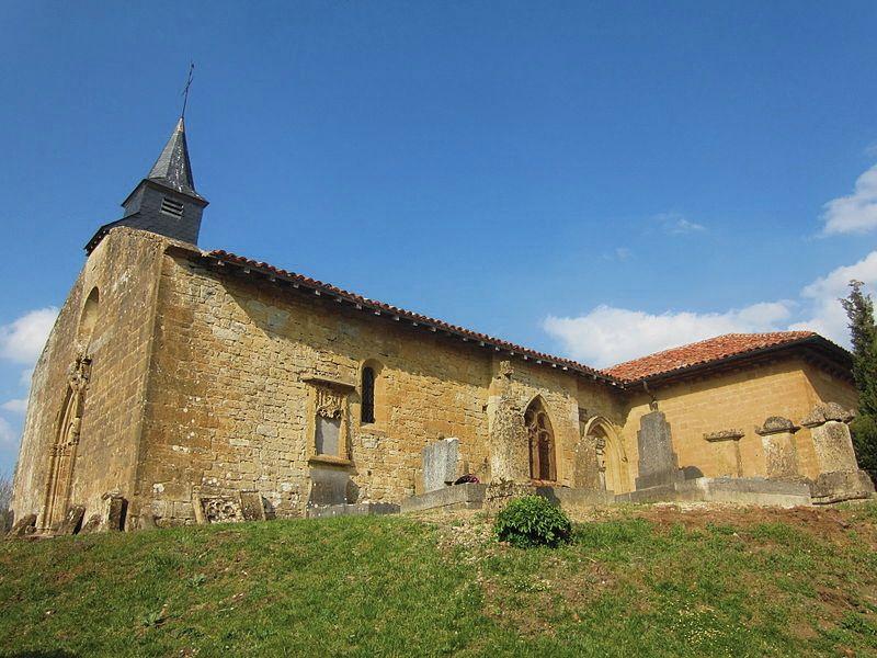 Marville (Meuse) L'église Saint Hilaire