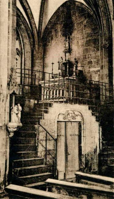 Marville (Meuse) L'église Saint-Nicolas, chapelle Ste Fine CPA