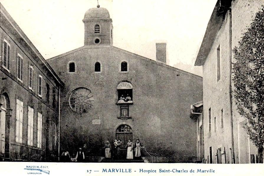 Marville (Meuse) La chapelle Saint-Bernard CPA