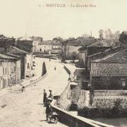 Marville (Meuse) La grande rue CPA