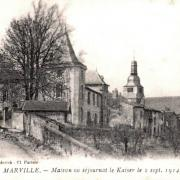 Marville (Meuse) La maison du Kaiser en 1914 CPA