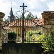 Marville (Meuse) L'entrée du cimetière
