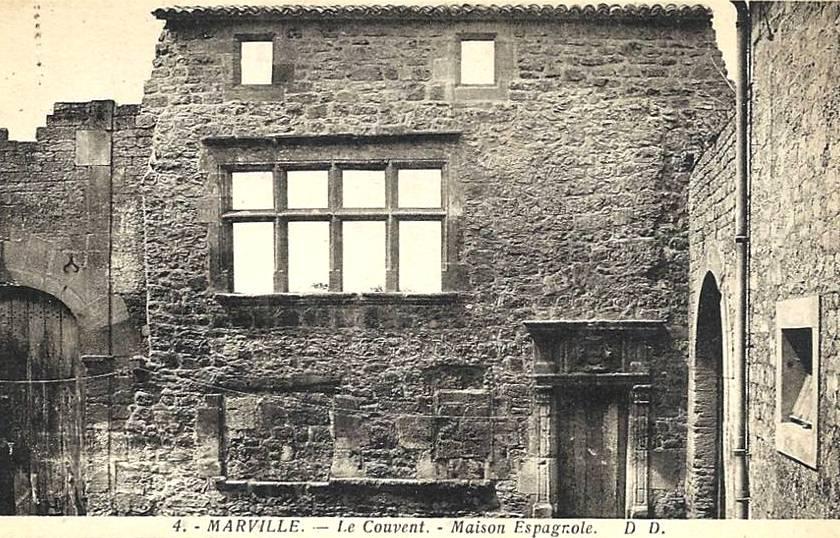 Marville (Meuse) Le couvent des Bénédictines CPA