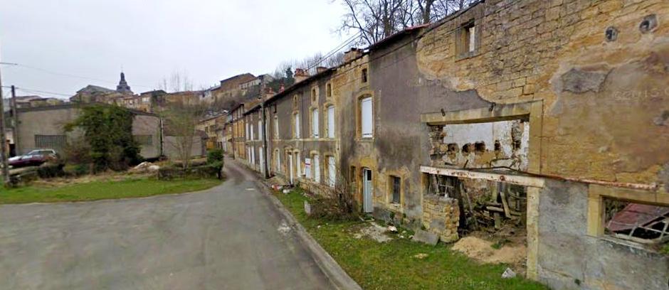 Marville (Meuse) Le Faubourg de Gauilly
