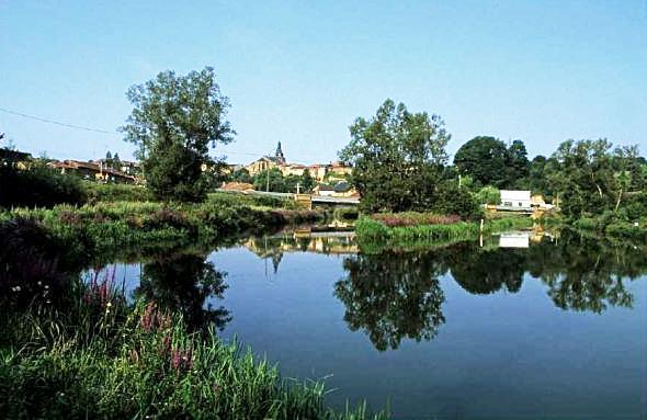 Marville (Meuse) Le Plan d'eau