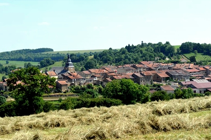 Marville (Meuse) Vue générale