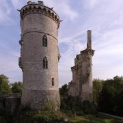 Mehun-sur-Yèvre (Cher) Le château en ruines