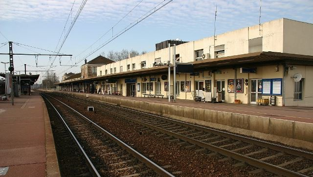 Melun seine et marne la gare en 2007