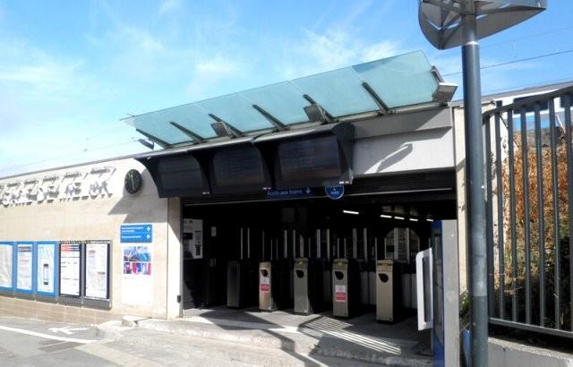 Melun seine et marne la gare en 2017
