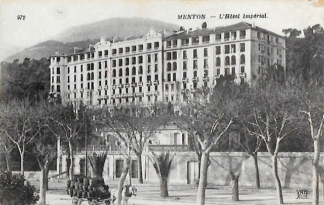 Menton 06 l hotel imperial cpa