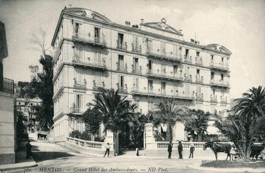 Menton 06 le grand hotel des ambassadeurs cpa