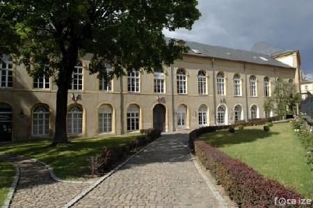 Metz L'abbaye Saint-Arnoul