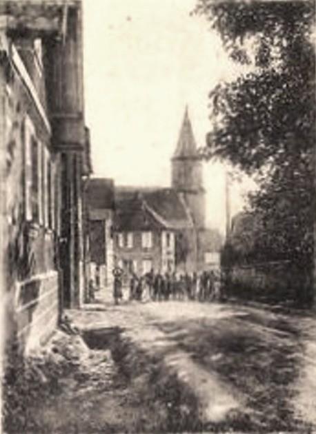 Mittelschaeffolsheim 67 l eglise cpa