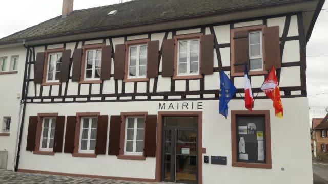 Mittelschaeffolsheim 67 la mairie