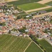 Mittelschaeffolsheim 67 vue generale