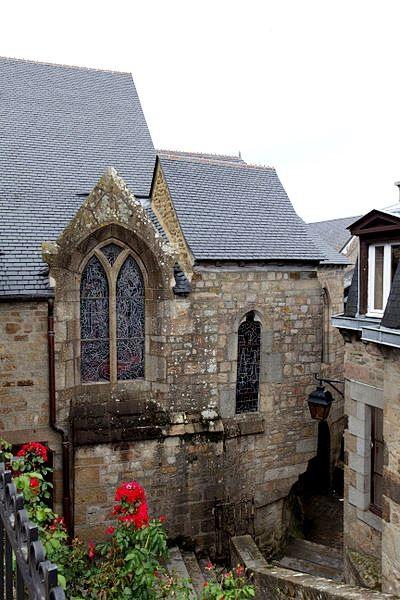 Mont saint michel manche l eglise saint pierre