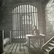 Mont saint michel manche les prisons cpa