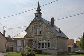 Monthenault (Aisne) Mairie