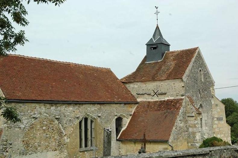 Montigny-les-Condé (Aisne) église Saint-Eloi