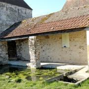 Montigny-les-Condé (Aisne) le lavoir