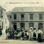 Montjavoult oise cpa oeuvre la clef des champs 1892