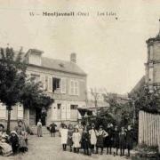 Montjavoult oise cpa oeuvre les lilas