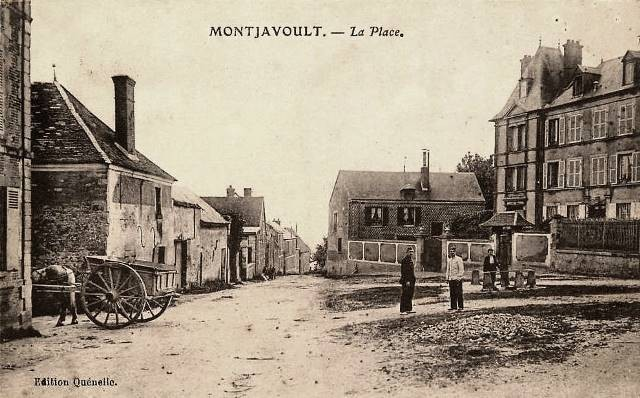 Montjavoult oise cpa place